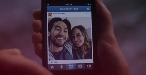 Love Life (1x03) - Instagram da Emily